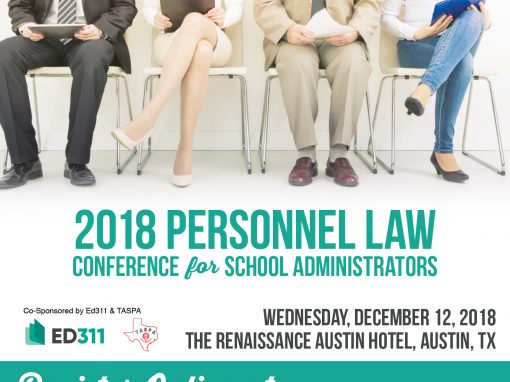 Personnel Law Conference for School Administrators