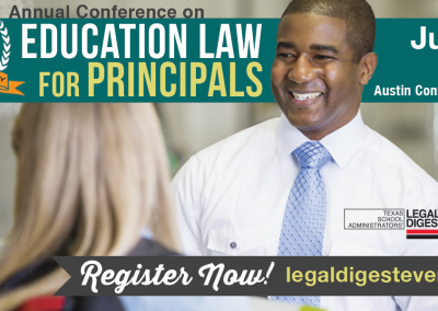 Education Law for Principals
