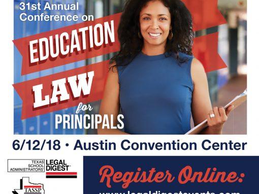 Education Law for Principals