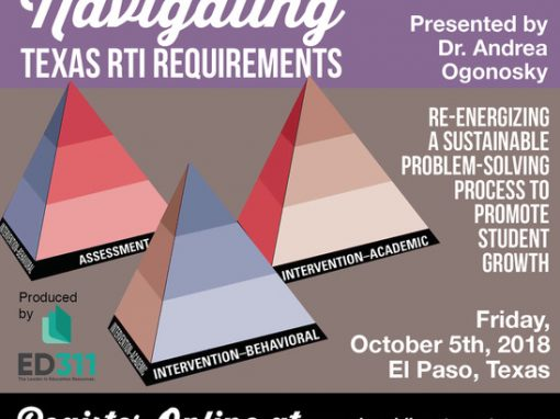 Navigating Texas RtI Requiments