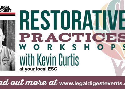 Restorative Practices Workshops with Kevin Curtis