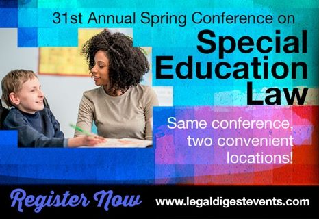Spring Conference on Special Education Law