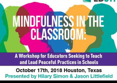 Social & Emotional Learning and Mindfulness Workshop