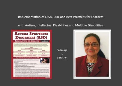 ESSA & Autism Workshop