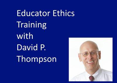 Educator Ethics Trainings
