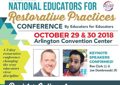 2018 National Educators or Restorative Practices Conference
