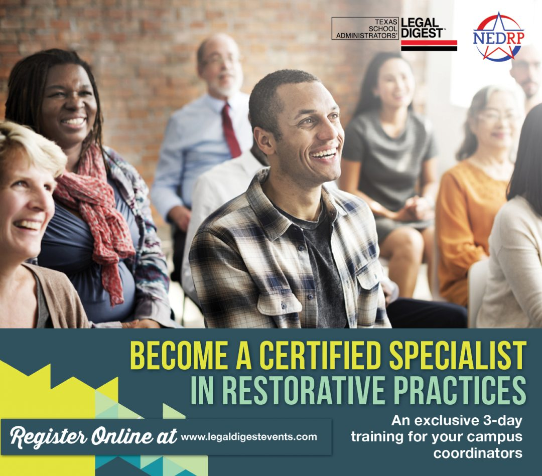 Certified Specialist in Restorative Practices
